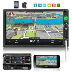 """7"""" 2 DIN Touch Screen Car Radio Audio MP5 Mirror Link Stereo"""