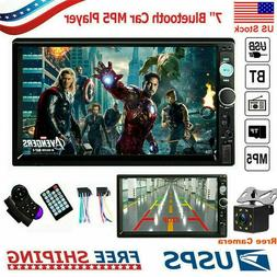 """7"""" 2DIN Car Stereo Radio HD MP5 Player Bluetooth  Touch Scre"""