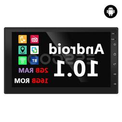 """7"""" Android 10.1 Car Stereo MP5 Radio Player 2+16GB GPS SAT 2"""