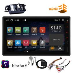 """7"""" Android 10 Car Stereo MP5 Player GPS NAVI WiFi Double 2 D"""