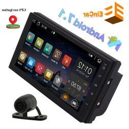 "7"" Android 10 Car Stereo Radio GPS Navi 2Din Wifi FM Mirror"