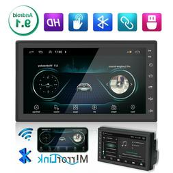 """7"""" Android 9.1 Autoradio 2 Din HD Car Stereo Radio Touch Scr"""