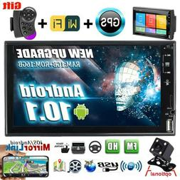 """7"""" Car Radio Android 10.1 Touch Screen Stereo 2 Din WIFI GPS"""