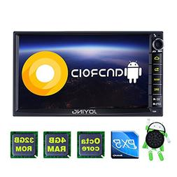 JOYING 7 Car Stereo Android 8.0 4GB + 32GB Head Unit Double