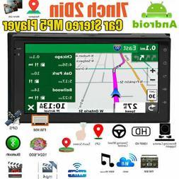 "7"" Car Stereo GPS Navigation Radio Player Double 2 Din WIFI"