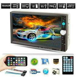 "7"" Car Stereo Radio HD Mp5 Player Touch Bluetooth Radio 2din"
