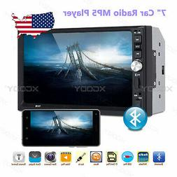 "7"" Car Stereo Radio MP5 Player Bluetooth Touch Mirror Link U"