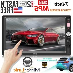 Bluetooth Car Touch Screen Stereo MP5 Player FM Radio USB AU