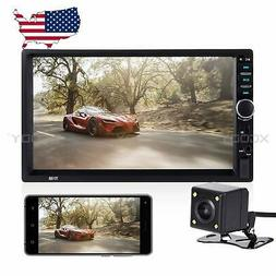 7 in Car Stereo Radio MP5 Player Mirror Link Bluetooth Hands