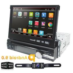 """7"""" inch Android 8.1 Flip Out Car DVD Stereo Radio 1DIN 4Core"""