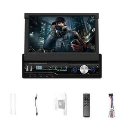 7 Inch Car Stereo Audio Radio 1 Din MP5 Player with Folding