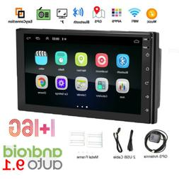 7 Inch Car Stereo Radio Double 2 Din Android 9.1 GPS Wifi To