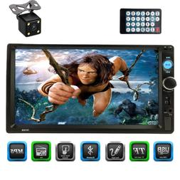 """CACA 7"""" inch Double Din Touchscreen in Dash Stereo Car Recei"""