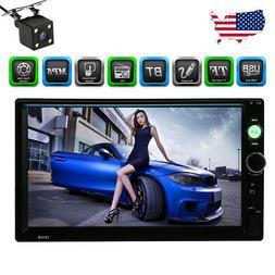 "7"" Inch Car Stereo Radio HD Mp5 Player Touch Screen BT Radio"