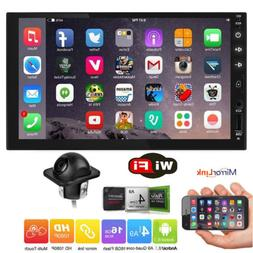 """7"""" inch Smart Android 6.0 4G WiFi Double DIN Car Radio Stere"""