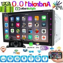 "7"" Smart DVD CD Android 10.0 WiFi Double 2DIN Car Radio Ster"