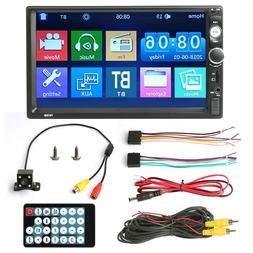 "7"" Stereo Bluetooth Car MP5 Player Radio 1080P Touch Screen"