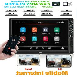 SWM 7in 2DIN Car Stereo MP5 Player BT USB FM Radio Mirror Li