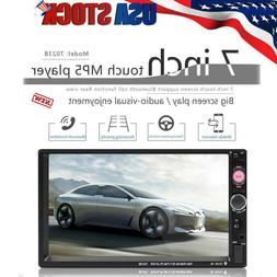 7inch 2 DIN Car Multimedia FM Radio DVD CD MP5 Player Blueto