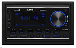 BOSS Audio 810BRGB Multimedia Car Stereo – Double Din, Blu