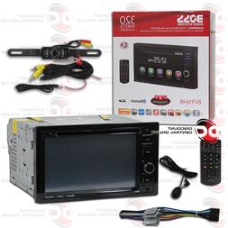"BOSS BV9364B CAR 2DIN 6.2"" LCD DVD CD BLUETOOTH STEREO FREE"