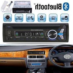 CAR 1DIN STEREO MP3 DVD CD PLAYER USB AUX-IN BLUETOOTH DASH