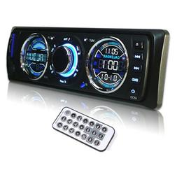 Car Stereo Audio In Dash FM Radio Aux Input Receiver SD USB