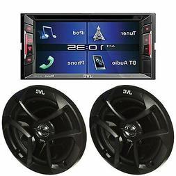 """JVC KWV140Bt  2Din DVD  BLUETOOT 6.2"""" Touch Car Stereo + 2"""