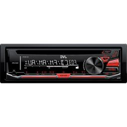 Jvc - In-dash Cd Receiver With Detachable Faceplate - Black