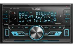 NEW Kenwood DPX303MBT Double DIN Bluetooth, Digital Media/AM
