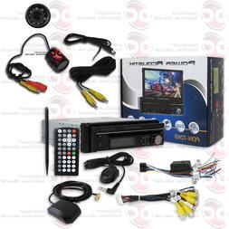 POWER ACOUSTIK PDN-726B DIN MOTORIZED DVD GPS BLUETOOTH STER