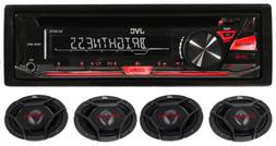 Package: JVC KD-R370 In-Dash Car Stereo CD/MP3 Player Receiv