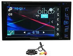 """Package: Pioneer AVH-280BT 6.2"""" 2-Din DVD/CD/MP3 Car Audio M"""