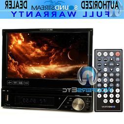 "SOUNDSTREAM VIR-7830 7"" TV DVD CD USB MP3 EQUALIZER SD AUX C"