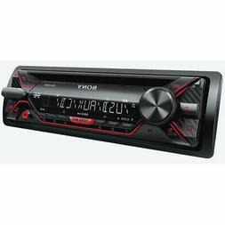 Sony - In-dash Cd/dm Receiver With Detachable Faceplate - Bl