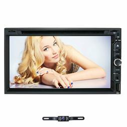 "Sony Lens 7"" Car Stereo Radio DVD Player Double 2Din iPod BT"