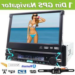 "Sony Lens Double 2Din 6.2""Car Stereo GPS Radio DVD Player Bl"
