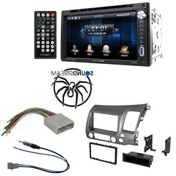 "Soundstream 2 Din DVD/CD/MP3 Player 6.5"" Display Dash Kit 20"