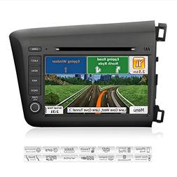 AIMTOM 2012 2013 2014 Honda Civic In-dash GPS Navigation Ste