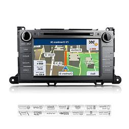AIMTOM AMN-1906-MB 2011-2014 Toyota Sienna In-dash GPS Navig