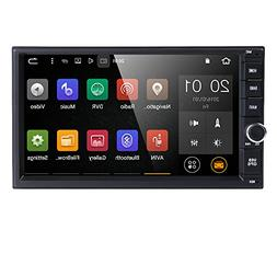 Android 6.0 Standard Double 2 Din Car GPS Stereo 7 Inch HD T