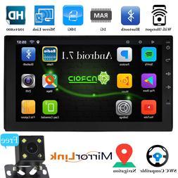 Bluetooth Car Stereo Navigation GPS Radio Head Unit USB Came