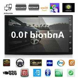 Android 9.1 Car Stereo GPS Navigation Radio Player Double Di