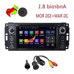MCWAUTO Android 8.1 Car Stereo GPS DVD Player Compatible Dod