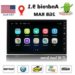 Android 8.1 Quad Core Car Stereo GPS 7'' HD Radio Player WIF