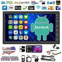 Android 9.1 Car In dash Radio Double 2Din Stereo GPS Navi BT