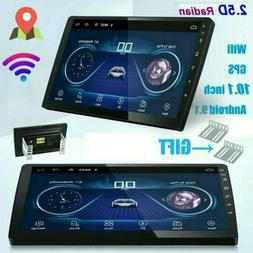"Android 9.1 Mirror Link 10.1"" Car Stereo Radio GPS Navi 2Din"