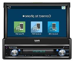 Android Car Stereo Head Unit Flip Touch Screen Monitor Audio