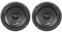 """1 Pair of AudioPipe APMB-8SB-C 8"""" Full Range Car Audio DJ Se"""