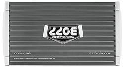 BOSS AUDIO AR3000D Car Amplifier - 3000 Watts, 1/2/4 Ohm Sta